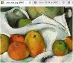 Cezanne : Part of Still Life