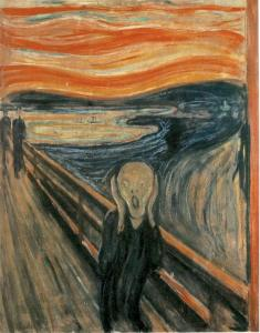 Edward Munch: The Cry (1863-1944)